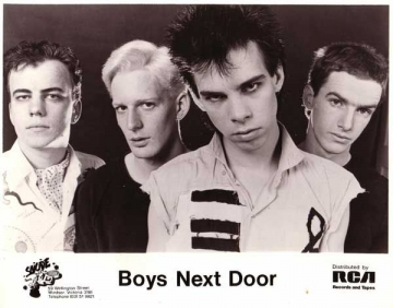 The Boys Next Door - Somebody's Watching